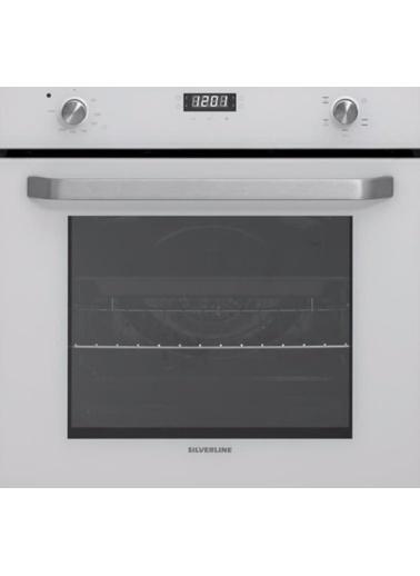 Silverline BO6191W02 5 Fonksiyon Beyaz Ankastre Fırın Renkli